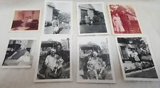 Lot of 8 Vtg Black White Sepia  50s 60s Family Couples Photos Pictures Americana