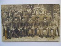 Deutsche Soldaten, Fotokarte 1915 aus Wildpark (43896)