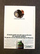 [GCG] L047- Advertising Pubblicità -1977- COCKBURN'S SPECIAL RESERVE PORT