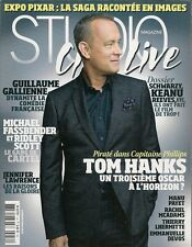 STUDIO CINE LIVE N° 54--TOM HANKS/GALLIENNE/FASSBENDER & RIDLEY SCOTT/LAWRENCE