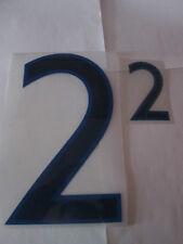 N ° 2 grandes y pequeñas Inglaterra Home Football Shirt nombre establecido sólo números de Deportivos Id