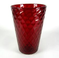 Murano Glas Vase Label Genuine Venetian Glass Handmade ca. 19,5cm RARE