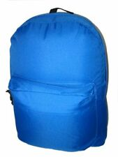 "Wholesale Case Lot 36 Royal 18"" Basic Backpack School Day pack Book bag-LM183"
