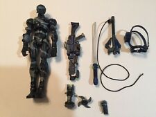 "G.I. Joe Snake Eyes NINJA SIGMA 6 8"" Action Figure RARE SIX 4 2006"
