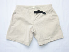 Marmot Women's Beige Cotton Blend Hiking Shorts Gussetted Crotch Size 10