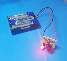 PCB Flasher Red LED Battery Box Dummy Alarm Siren Security Bell Flash Circuit