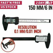 "6"" 150mm Electronic Digital Vernier Caliper Micrometer Guage LCD"