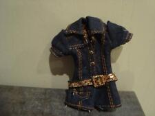 BRATZ Strut IT Yasmin Boho Hippie Originale Menta Verde Blu t shirt canotta