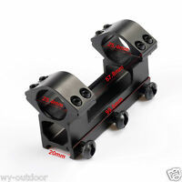 """Tactical High Profile 1"""" Rings Weaver Picatinny Rail Scope Mount For Rifle Scope"""