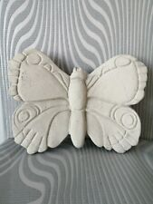 Butterfly Wall Hanging Concrete stone Garden Ornament H7in