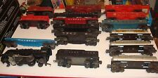 LIONEL  LOT OF 15 TRAINS  0-27