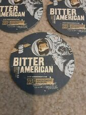 TEN 21st AMENDMENT BITTER AMERICAN IPA BEER COASTERS  DOUBLE SIDED
