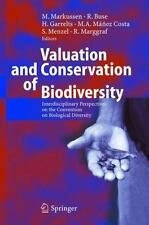 Valuation and Conservation of Biodiversity: Interdisciplinary-ExLibrary