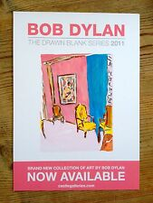 Bob Dylan The Drawn Blank Series 2011 - art gallery flyer