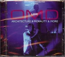 OMD Orchestral Manoeuvres In The Dark - LIVE Architecture & Morality & More - CD