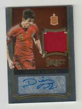 2015-16 Panini Select Soccer Jersey Auto card : Diego Costa #03/39