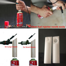 2xAutomotive Diesel Injection Cleaner Adapter Fuel Injector Nozzle Cleaning Tool