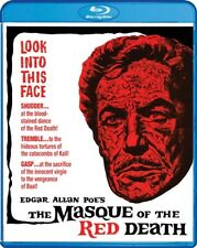 THE MASQUE OF THE RED DEATH New Blu-ray Vincent Price Theatrical + Extended Cuts