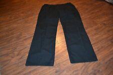 G23- SOG Black Polyester/Cotton Pants Size 36