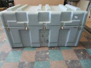 "Hardigg Gray Storage/Shipping Case Exterior 50"" x 28"" x 28"""