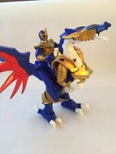 POWER RANGERS Mystic Force 2006 SOLARIS KNIGHT ACTION DRAGON Blue Ranger & WINGS