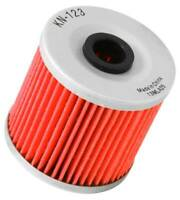 K&N KN High Flow Premium Cartridge Oil Filter For Kawasaki KL650 250 300 KN-123