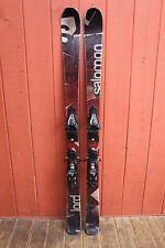 Salomon Lord Twin Tip Skis 161 cm. with Salomon Z12 Demo Bindings