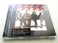 U2 - HOW TO DISMANTLE AN ATOMIC BOMB - DOUBLE ALBUM CD + DVD VIDEOS ORIGINAL