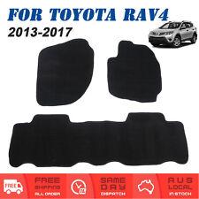 For Toyota RAV4 IV 2013 to 2017 XA40 Series Tailored Car Floor Mats Front + Rear