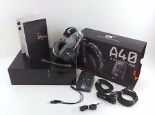 Used Astro Gaming A40 Wired + Mixamp Pro Dolby 7.1  Headset PS4 read please #q22
