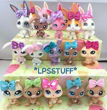 Littlest Pet Shop LPS 1 Random Bunny Rabbit + Bow Accessory Blind Bag Lot