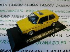 Voiture 1/43 IXO DEAGOSTINI Balkans : VOLKSWAGEN Golf JGL