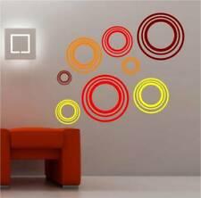 Decoración de paredes de círculos para el hogar