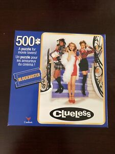 Cardinal Blockbuster Clueless Movie Jigsaw Puzzle 500 Piece Expert NEW SEALED