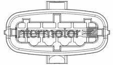 Intermotor MAF Mass Air Flow Meter Sensor 19832-M - GENUINE - 5 YEAR WARRANTY