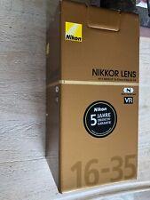 Nikon NIKKOR AF-S 16-35mm f/4G VR