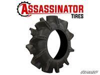 SuperATV Assassinator Heavy Duty Extreme Mud Tire - 32/8/14 - Self Cleaning!