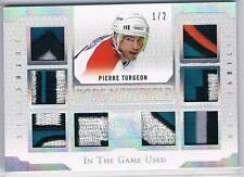 2017 Leaf ITG In The Game Used PIERRE TURGEON Rare Materials 8 Piece Patch /2