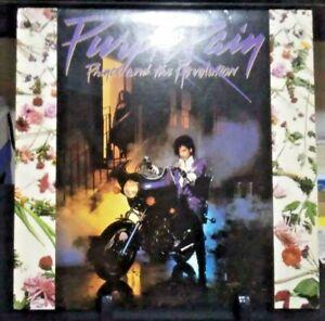 PRINCE AND THE REVOLUTION Purple Rain Album Released 1984 Vinyl Collection USA