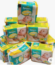JUMBO BOX PAMPERS SWADDLERS Size Newborn NB (Mega bx 240 diapers- 12packs of 20)