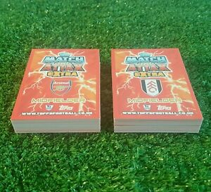 12/13 EXTRA COMPLETE FULL SET OF ALL 80 BASE CARDS MATCH ATTAX 2012 2013