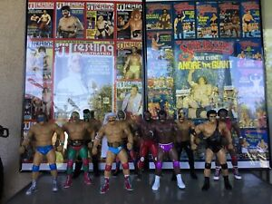 10 CUSTOM WRESTLING LEGENDS 12 INCH FIGURES......FIGURES ONLY