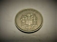 1969- 10 cents, Jamaica lightly circulated