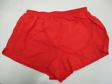 Bill Rodgers Red Running Shorts Built in Briefs (Large) USA Made