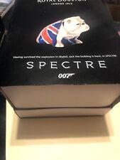 Royal Doulton James Bond Spectre 007 Jack the Bulldog Skyfall Figurine New