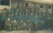 More details for ww1 monmouthshire regiment draft a4 platoon photo march 1918