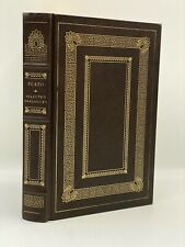 Easton Press PLATO SELECTED DIALOGUES Socrates Trial APOLOGIA LIMITED Edition