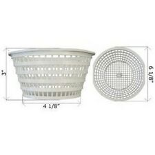 Swimline 8928 Olympic ACM88 Replacement Swimming Pool Skimmer Basket White