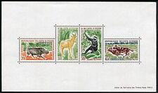 Ivory Coast: Native Animals MNH Souvenir Sheet
