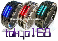 Rectangle Unisex LED Wristwatches